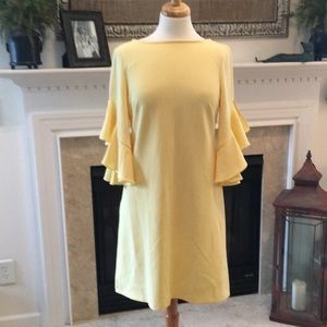 Beautiful Butter Yellow Just Taylor Dress